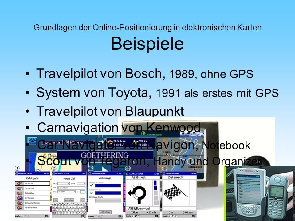 Travelpilot von Bosch, 1989, ohne GPS