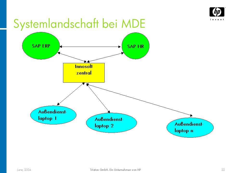 Systemlandschaft bei MDE
