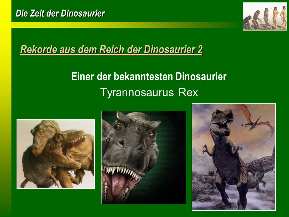 Rekorde aus dem Reich der Dinosaurier 2