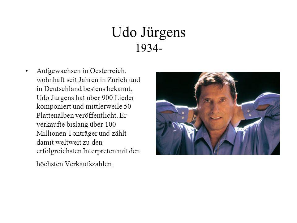 Udo Jürgens 1934-