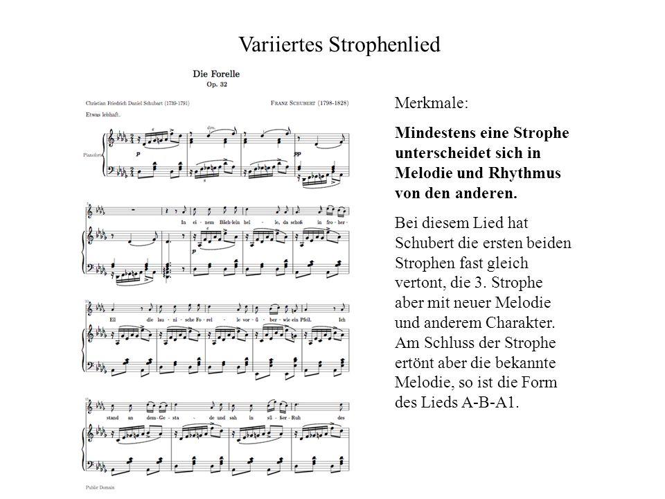 Variiertes Strophenlied