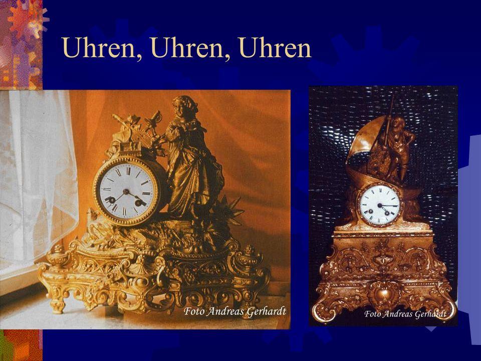 Uhren, Uhren, Uhren