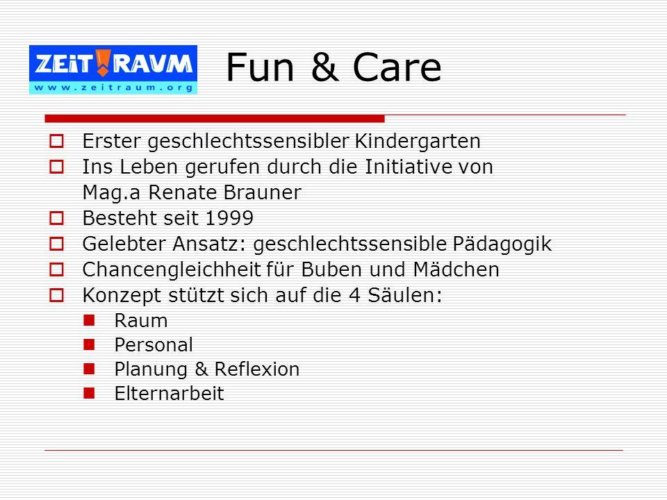 Fun & Care Erster geschlechtssensibler Kindergarten