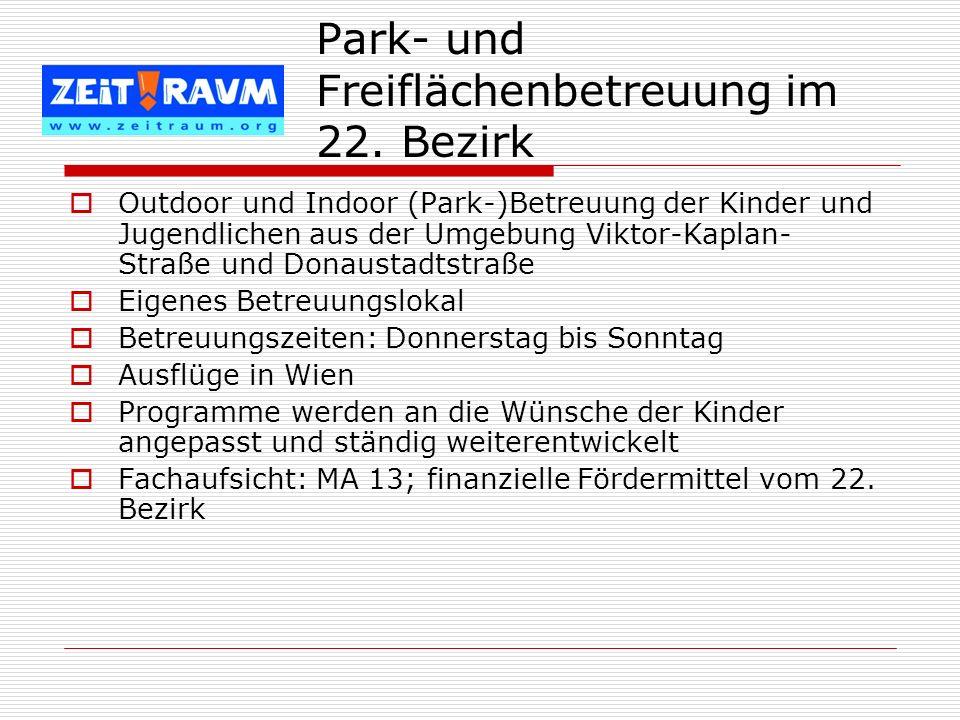 Park- und Freiflächenbetreuung im 22. Bezirk