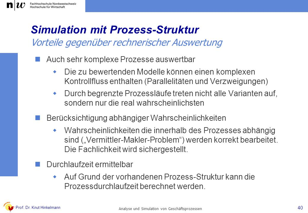 Simulation mit Prozess-Struktur