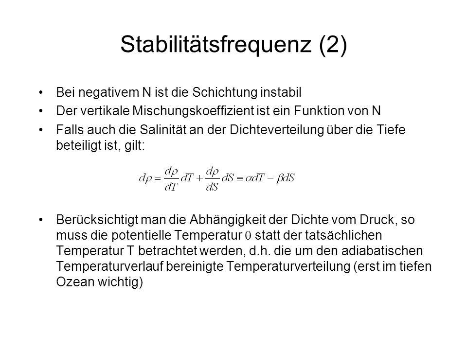 Stabilitätsfrequenz (2)