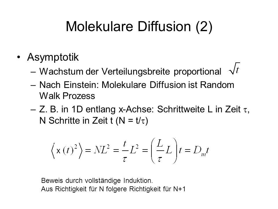 Molekulare Diffusion (2)