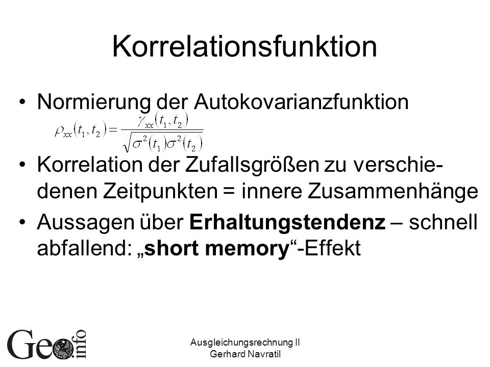 Korrelationsfunktion