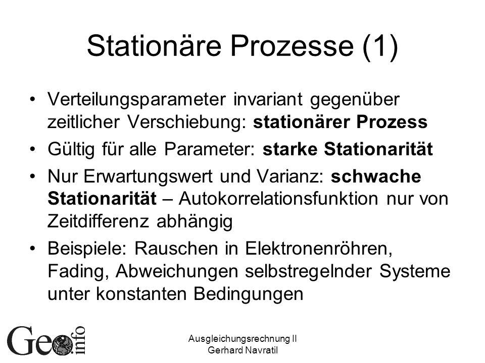 Stationäre Prozesse (1)