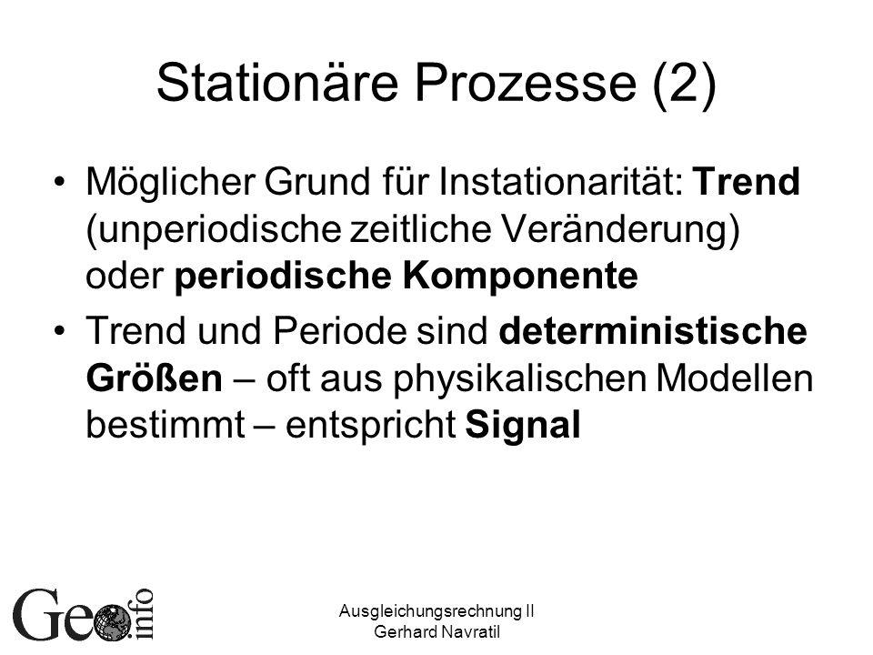 Stationäre Prozesse (2)