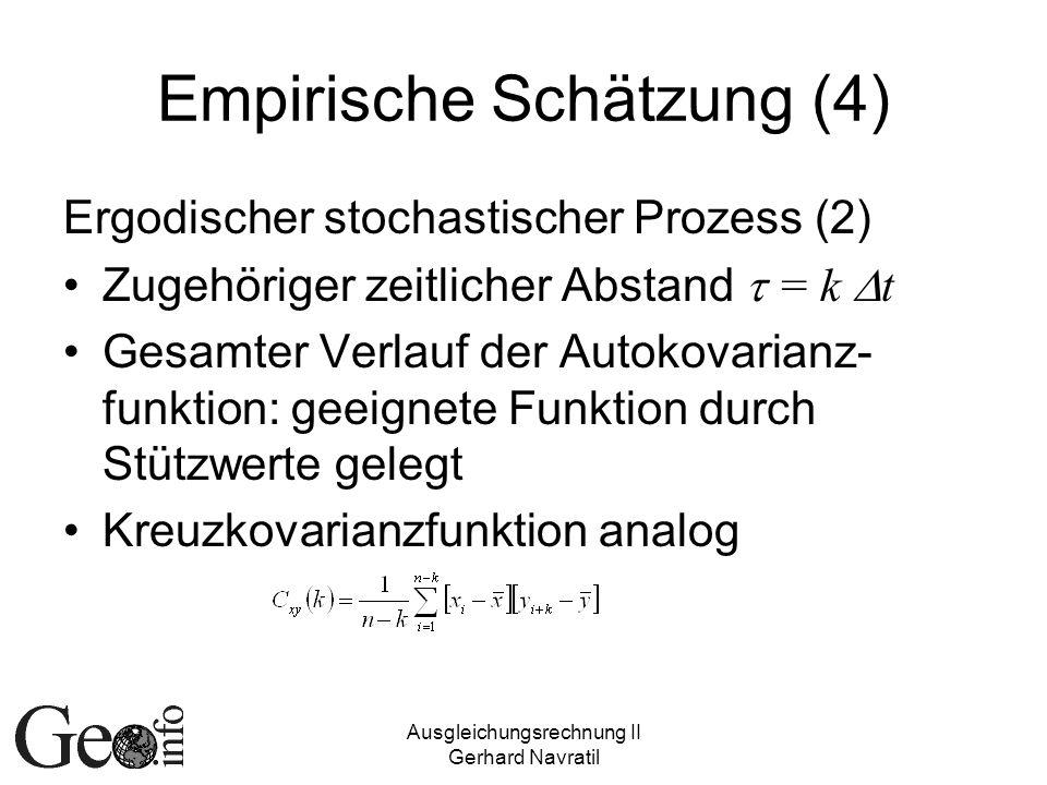 Empirische Schätzung (4)