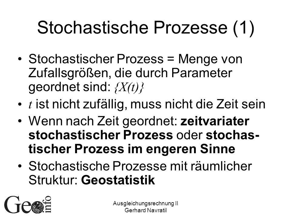 Stochastische Prozesse (1)