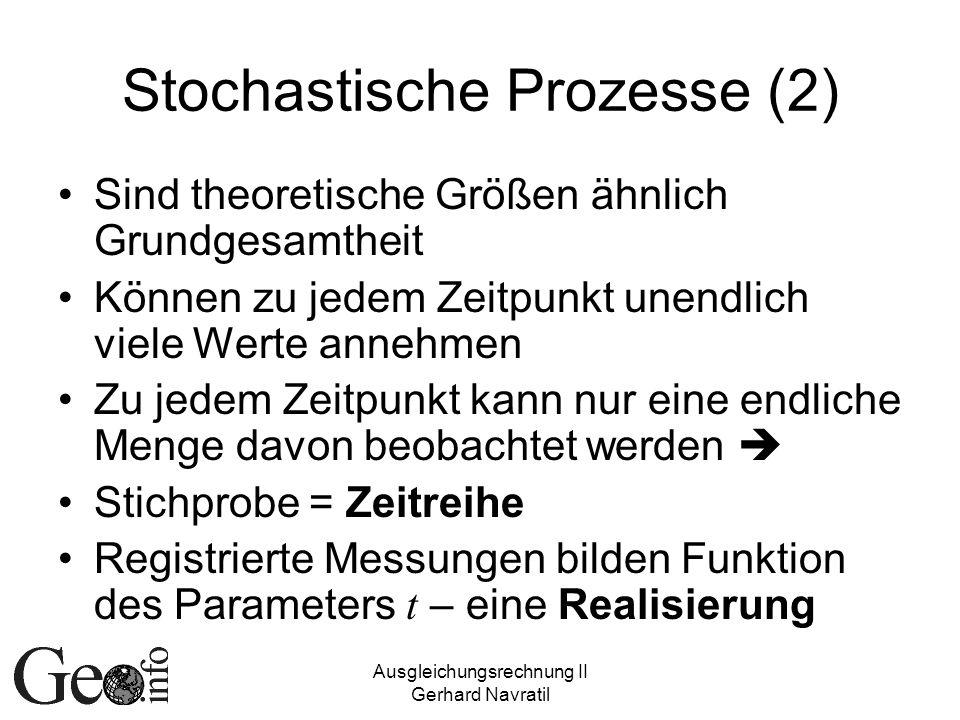 Stochastische Prozesse (2)
