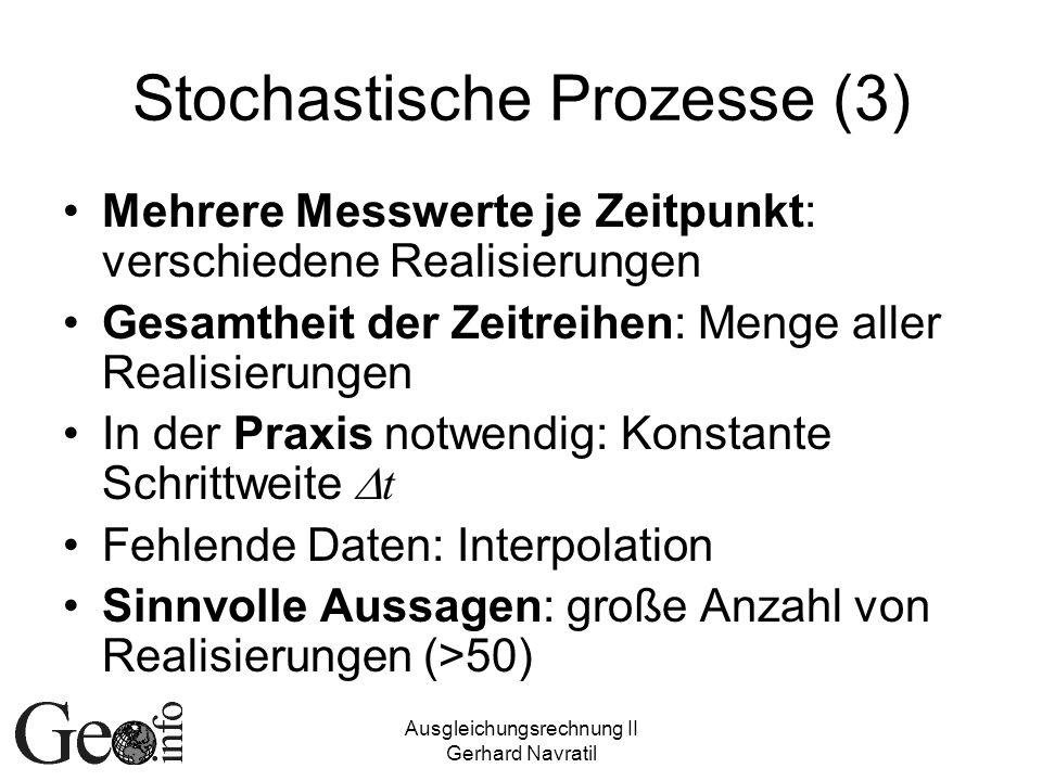Stochastische Prozesse (3)