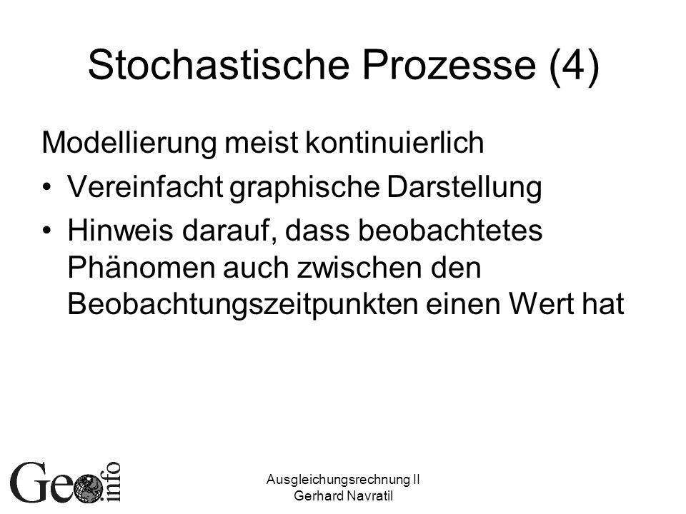Stochastische Prozesse (4)