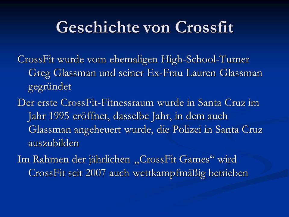 Geschichte von Crossfit