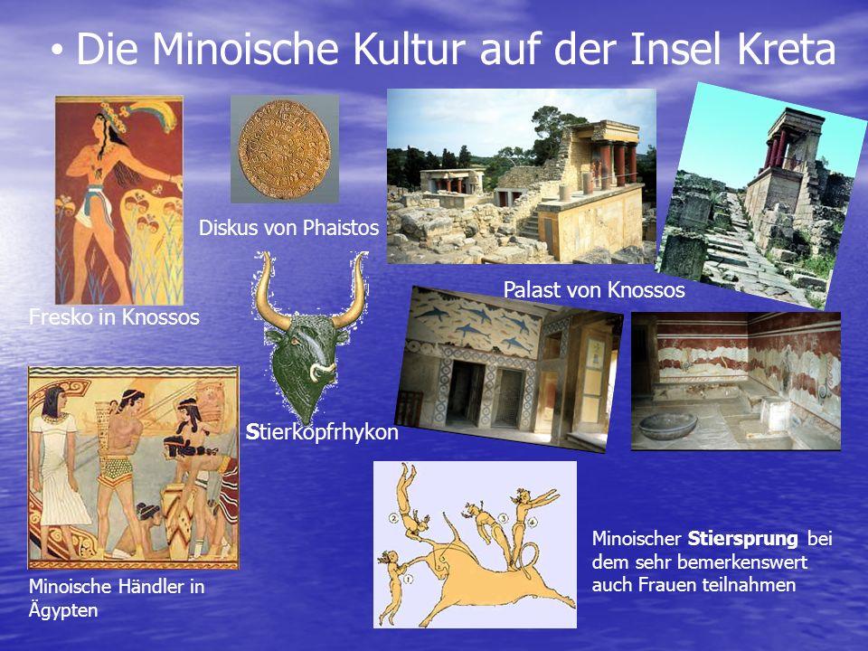 Die Minoische Kultur auf der Insel Kreta