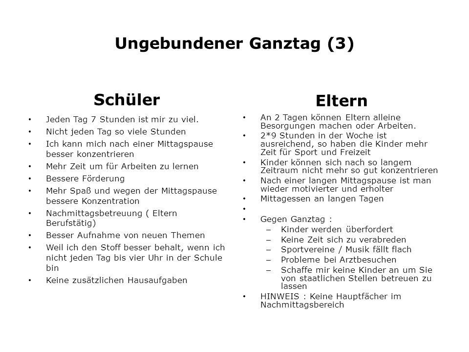 Ungebundener Ganztag (3)
