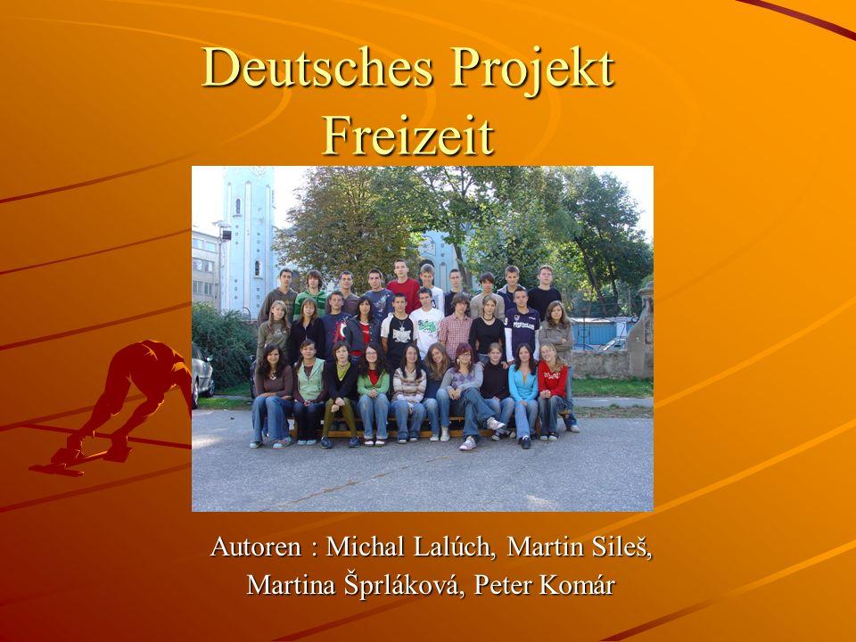 Deutsches Projekt Freizeit