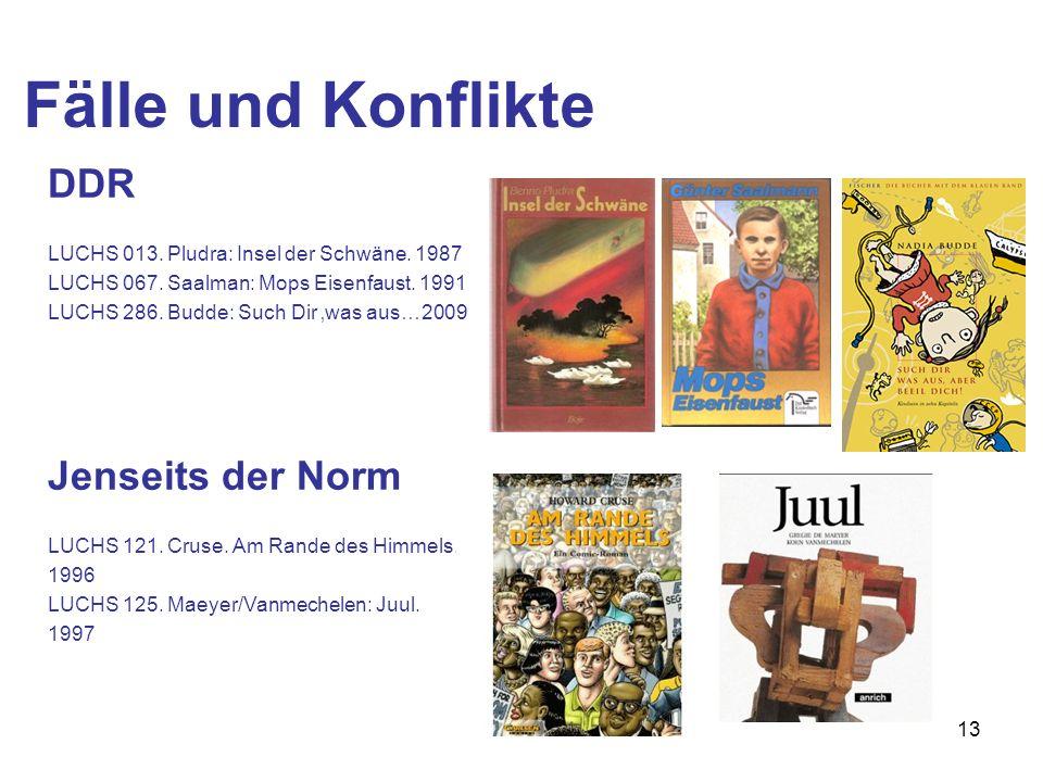 Fälle und Konflikte DDR Jenseits der Norm