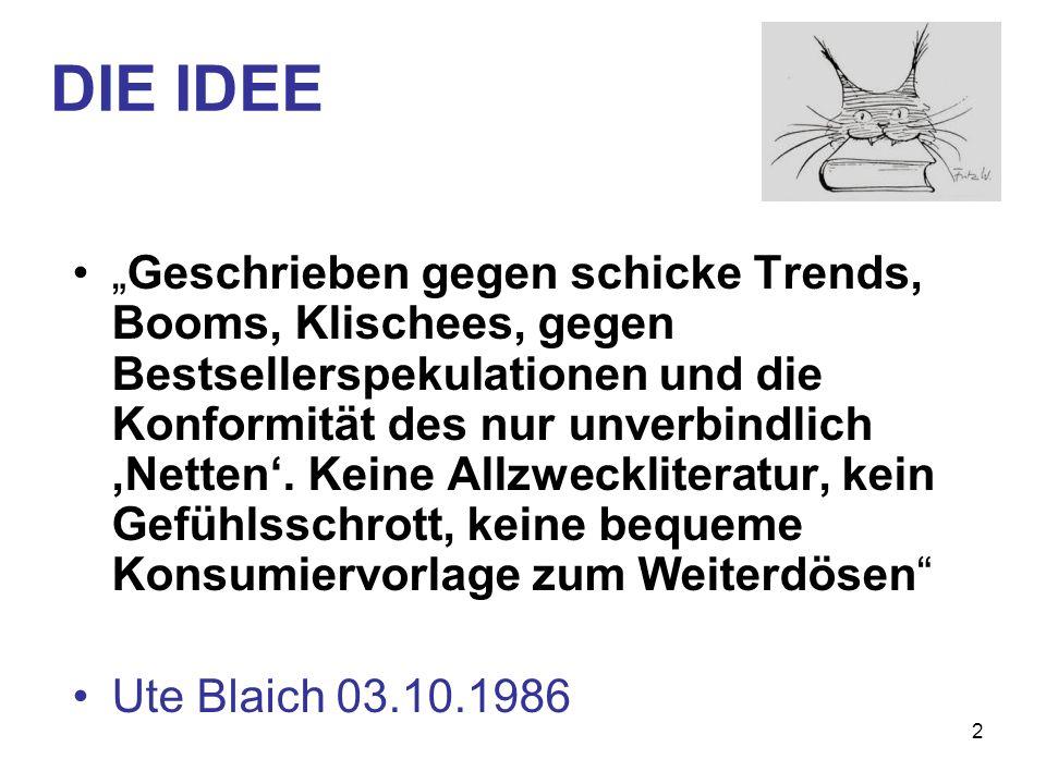 DIE IDEE