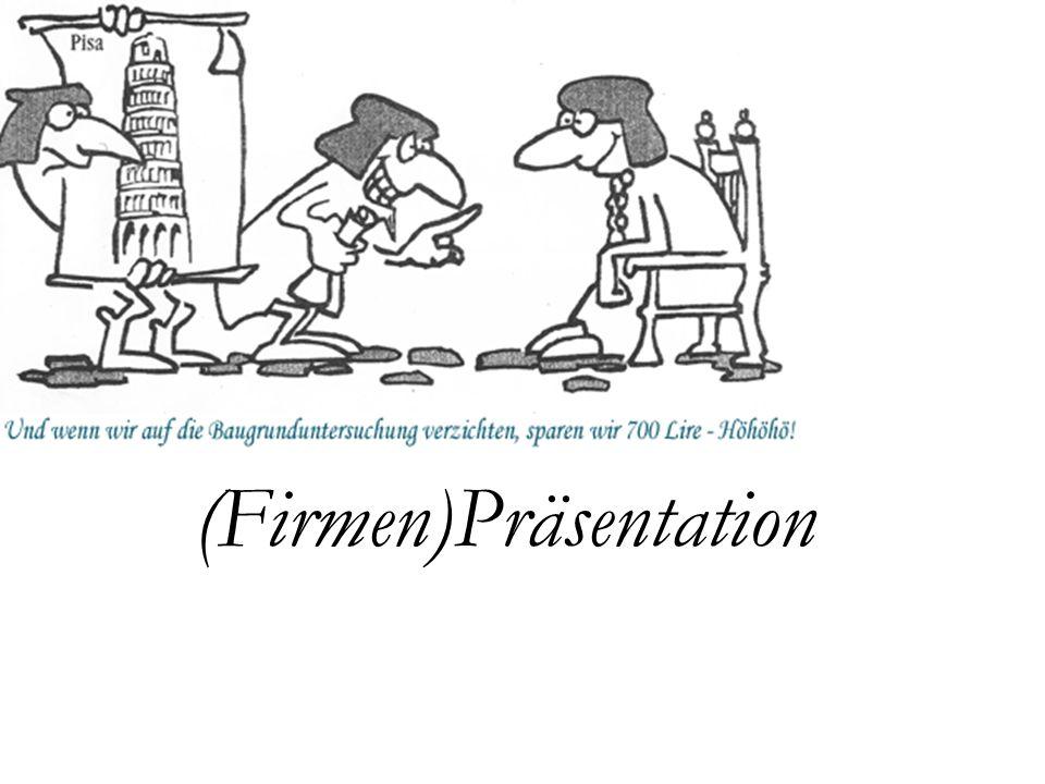 (Firmen)Präsentation