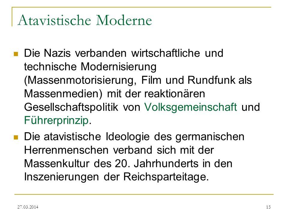 Atavistische Moderne