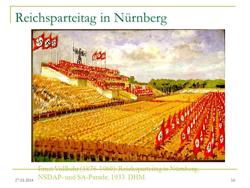 Reichsparteitag in Nürnberg