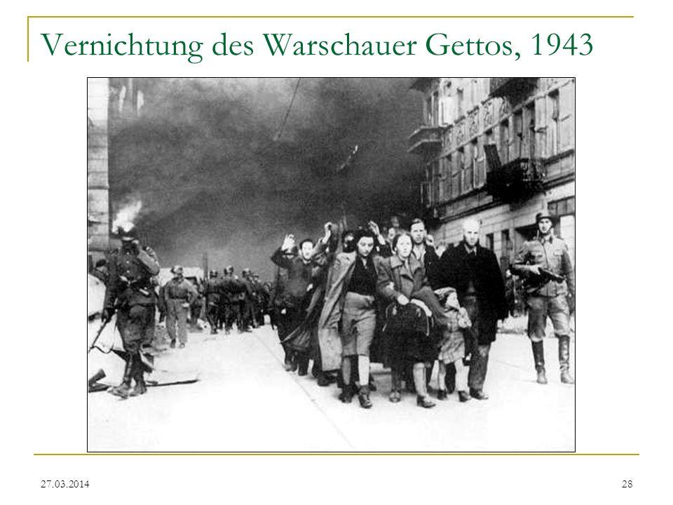 Vernichtung des Warschauer Gettos, 1943