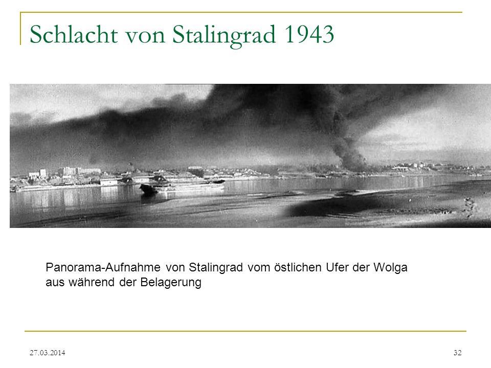 Schlacht von Stalingrad 1943