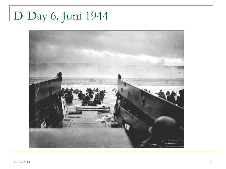 D-Day 6. Juni 1944 28.03.2017