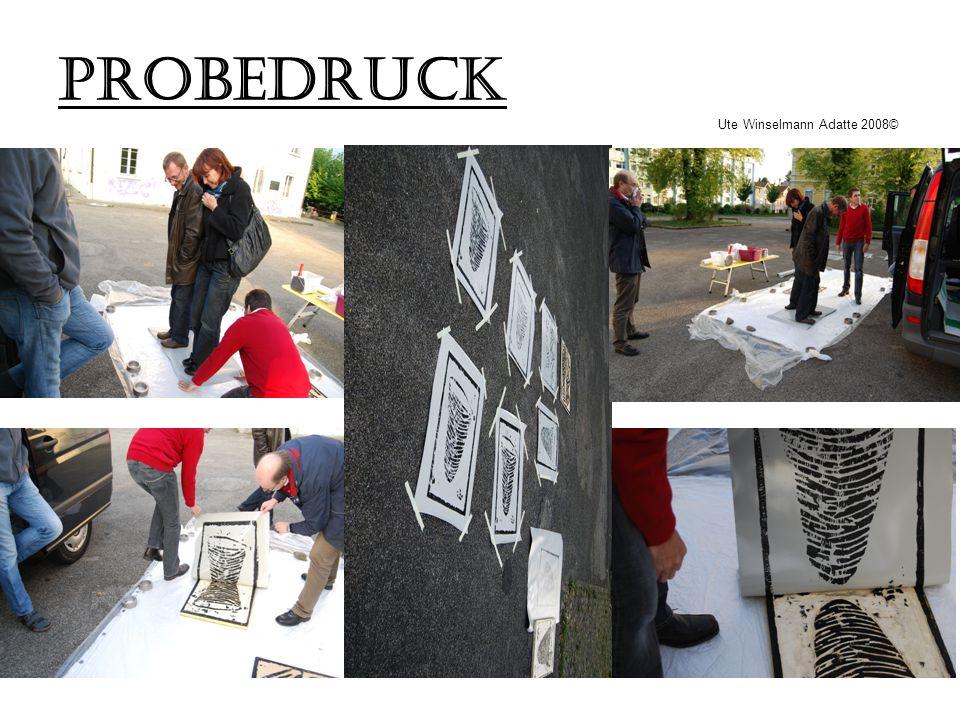 PROBEDRUCK Ute Winselmann Adatte 2008©