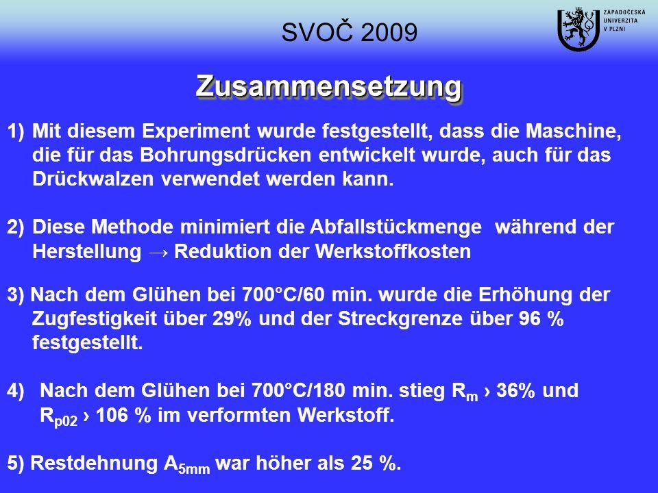 SVOČ 2009 Zusammensetzung.