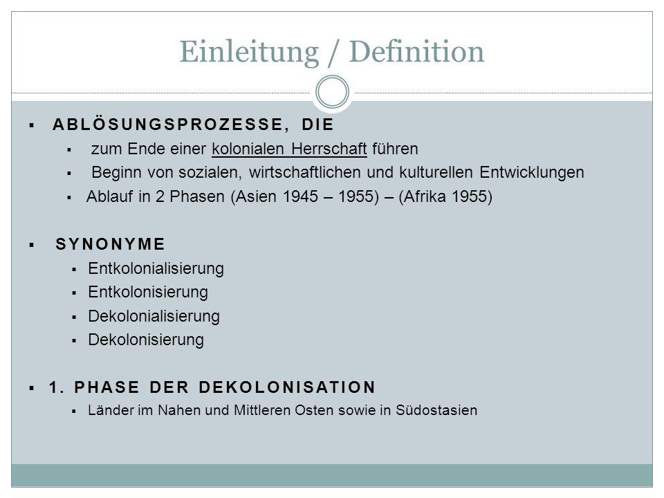 Einleitung / Definition