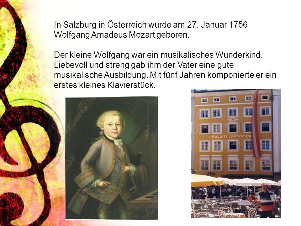 In Salzburg in Österreich wurde am 27