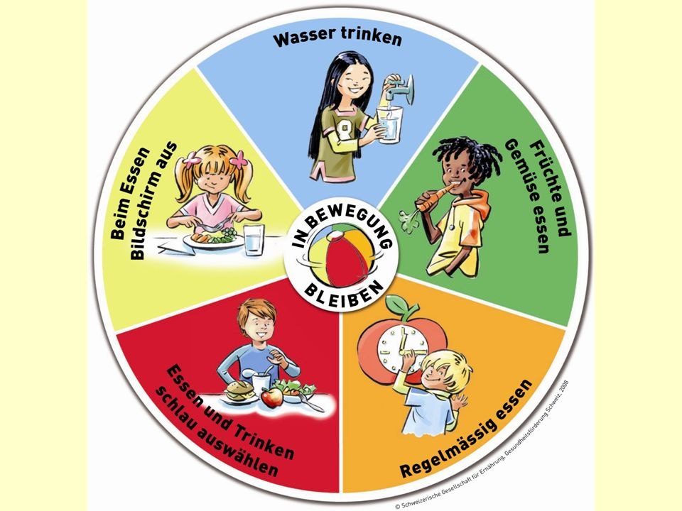 Die Gesundheitserziehung wird immer wichtiger, sei es im Elternhaus oder in der Schule. Ein Viertel aller SchülerInnen kommt ohne Frühstück in die Schule, jedes 5. Kind ist übergewichtig, zahlreiche Mädchen und immer mehr Knaben haben ein gestörtes Verhältnis zum Essen.