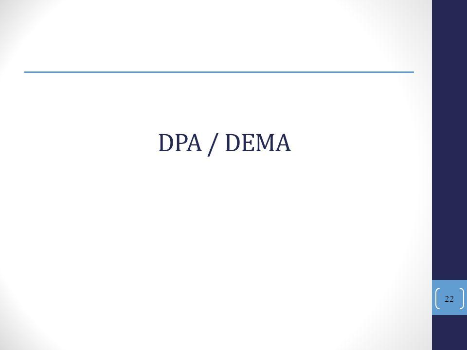 DPA / DEMA