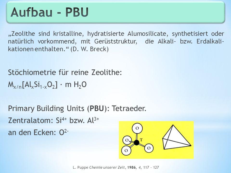 L. Puppe Chemie unserer Zeit, 1986, 4, 117 - 127