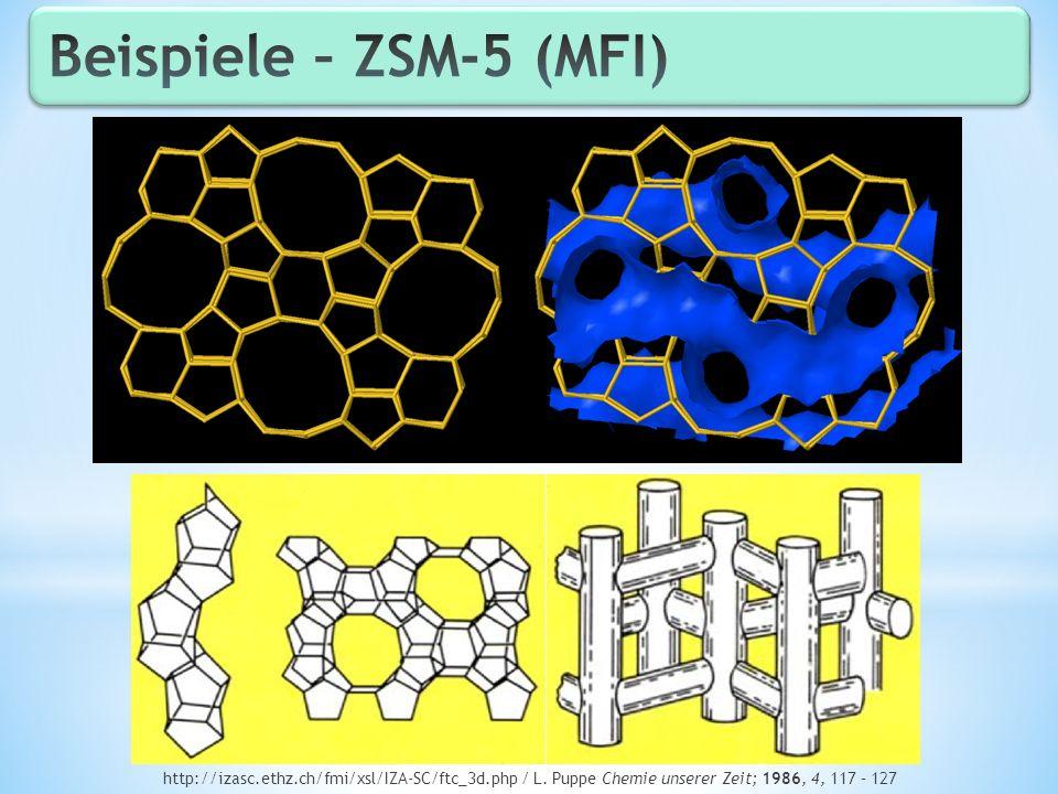 Beispiele – ZSM-5 (MFI) http://izasc.ethz.ch/fmi/xsl/IZA-SC/ftc_3d.php / L.