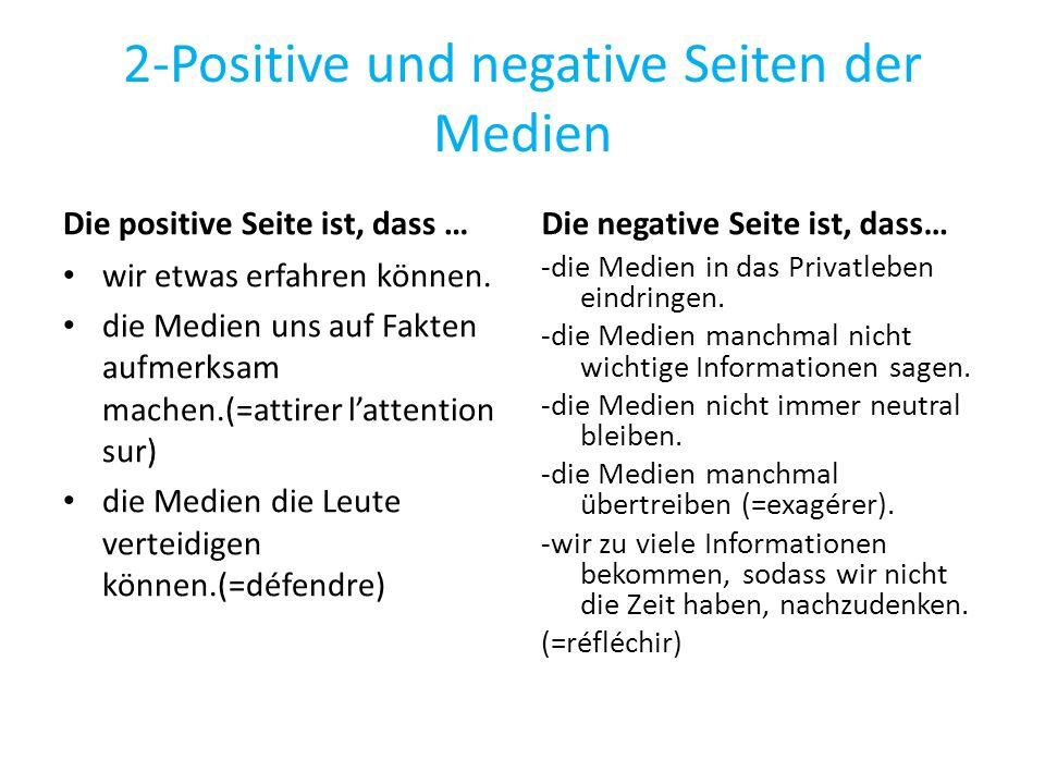 2-Positive und negative Seiten der Medien