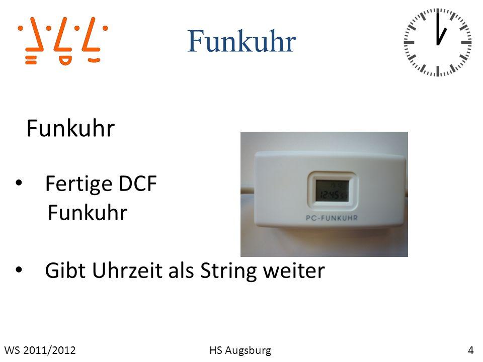 Funkuhr Funkuhr Fertige DCF Funkuhr Gibt Uhrzeit als String weiter