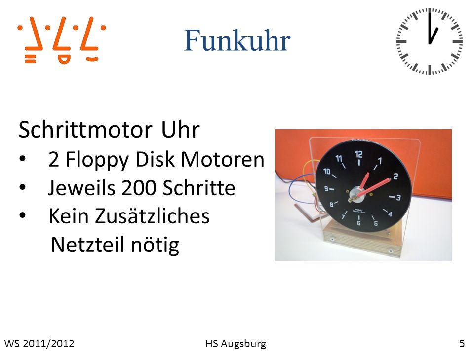 Funkuhr Schrittmotor Uhr 2 Floppy Disk Motoren Jeweils 200 Schritte