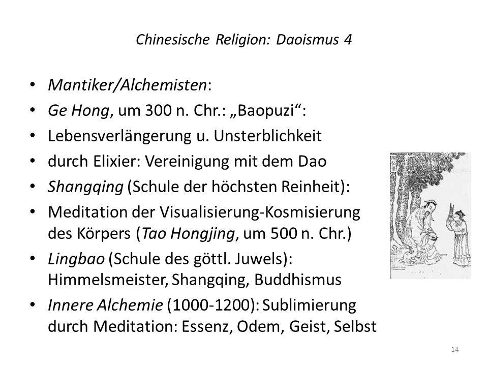 Chinesische Religion: Daoismus 4