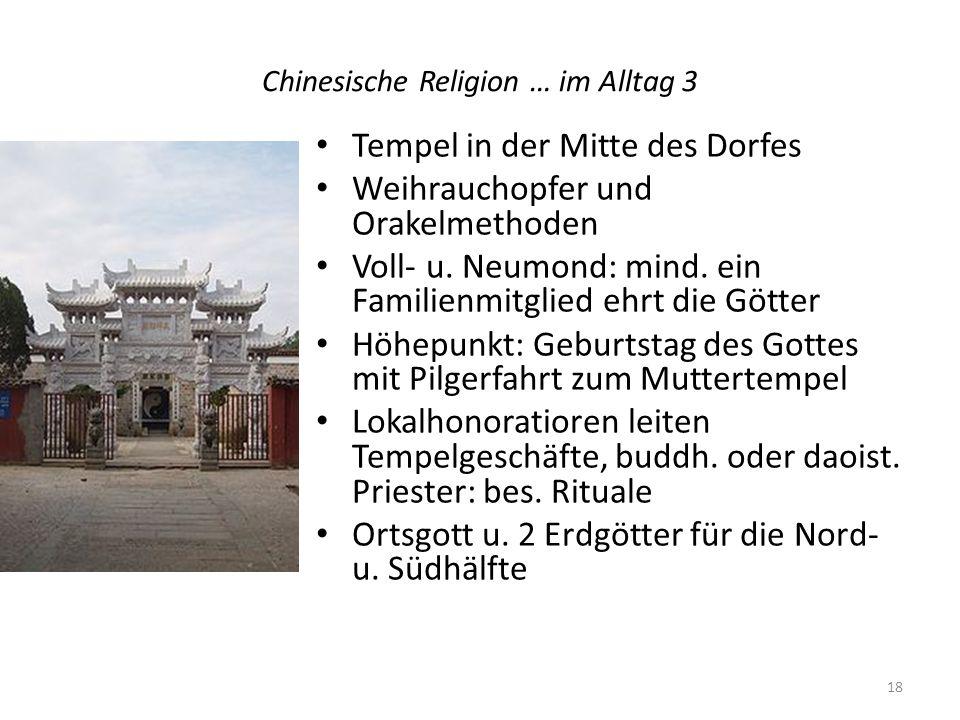 Chinesische Religion … im Alltag 3