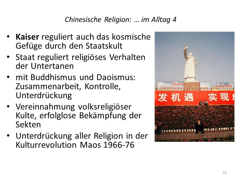 Chinesische Religion: … im Alltag 4