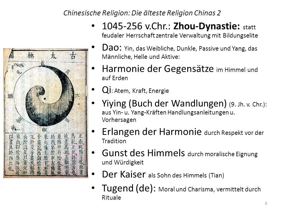 Chinesische Religion: Die älteste Religion Chinas 2