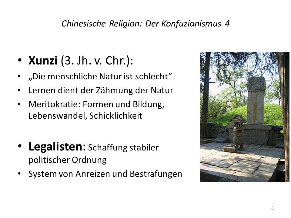 Chinesische Religion: Der Konfuzianismus 4