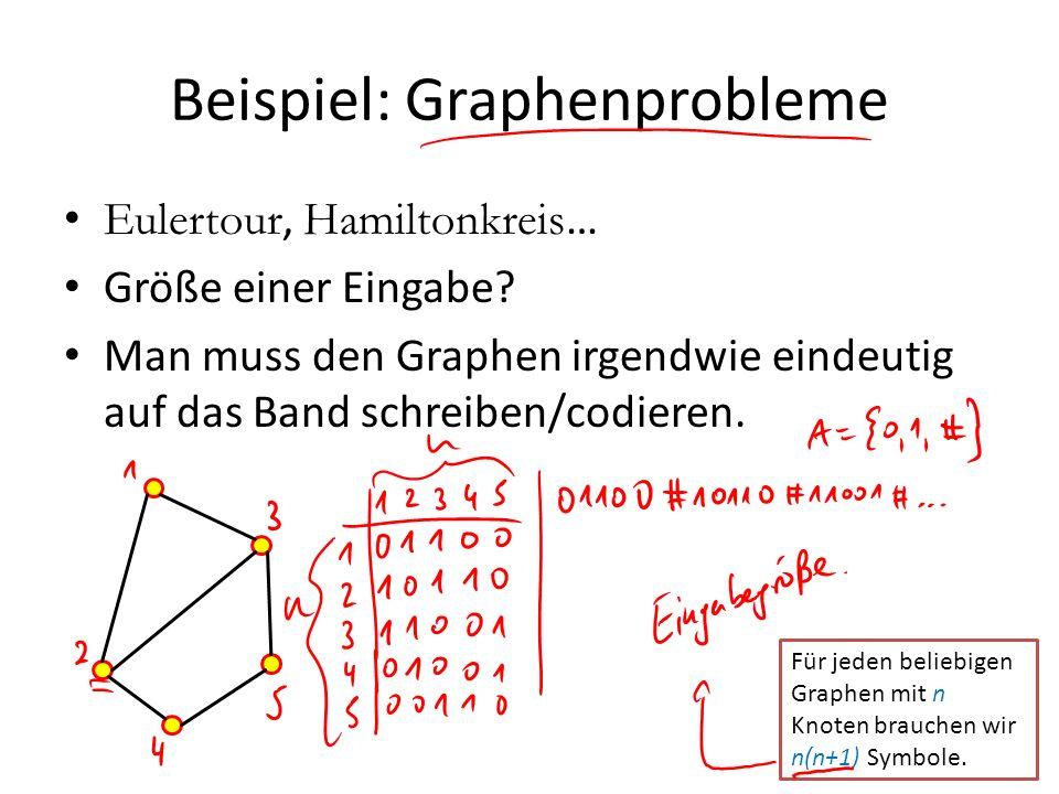 Beispiel: Graphenprobleme