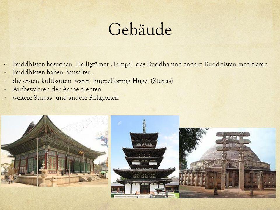 Gebäude Buddhisten besuchen Heiligtümer ,Tempel das Buddha und andere Buddhisten meditieren. Buddhisten haben hausälter .
