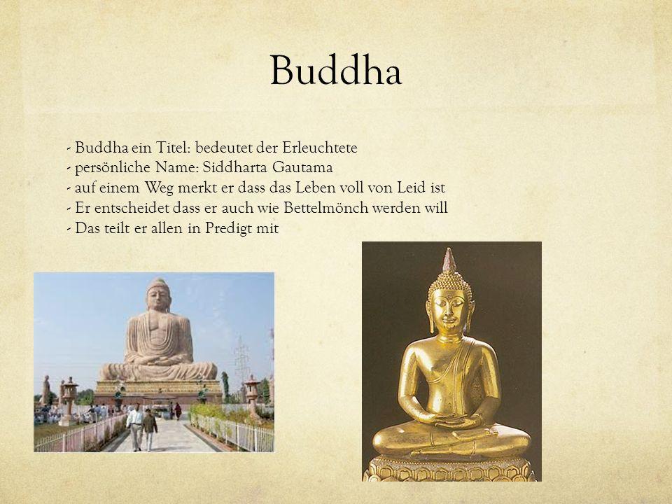 Buddha - Buddha ein Titel: bedeutet der Erleuchtete